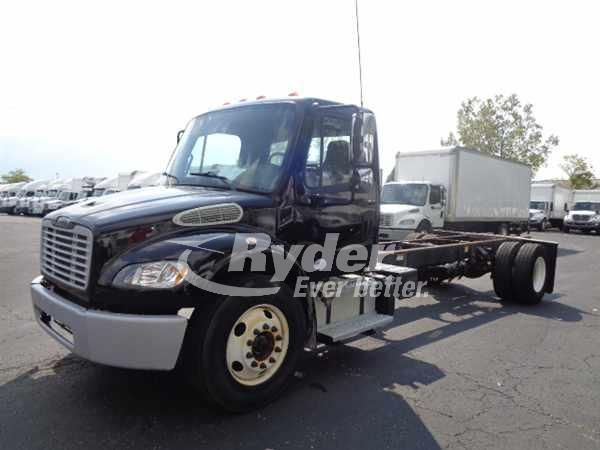 2013 FREIGHTLINER M2 106 CAB CHASSIS TRUCK #663743