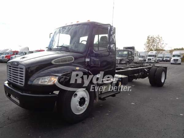 USED 2013 FREIGHTLINER M2 106 CAB CHASSIS TRUCK #669240