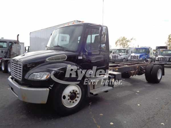 USED 2013 FREIGHTLINER M2 106 CAB CHASSIS TRUCK #669241
