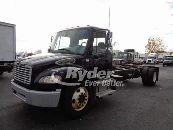 USED 2013 FREIGHTLINER M2 106 CAB CHASSIS TRUCK #669247