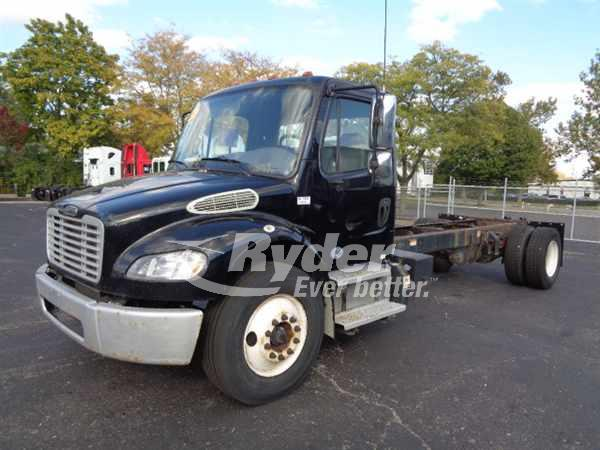 USED 2013 FREIGHTLINER M2 106 CAB CHASSIS TRUCK #669259