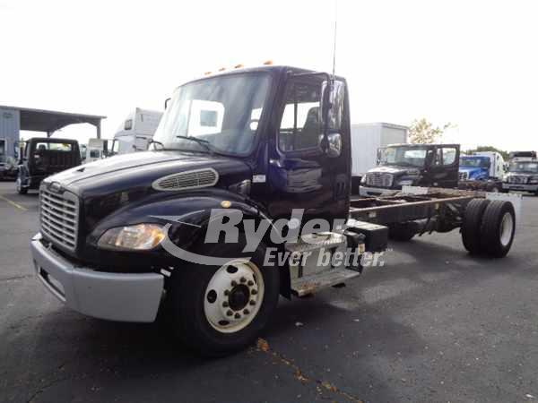 USED 2013 FREIGHTLINER M2 106 CAB CHASSIS TRUCK #669263