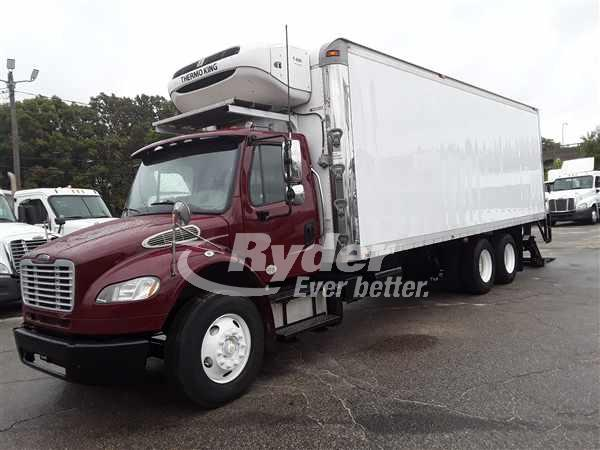 USED 2014 FREIGHTLINER M2 106 REEFER TRUCK #666619