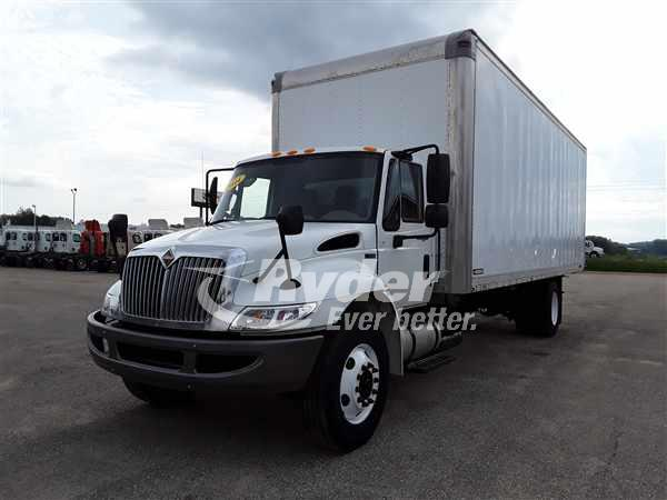 2014 NAVISTAR INTERNATIONAL 4300 BOX VAN TRUCK #662294