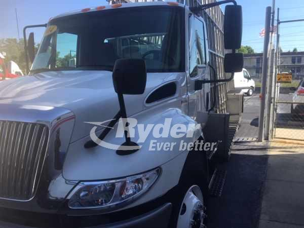 USED 2014 NAVISTAR INTERNATIONAL 4300 CAB CHASSIS TRUCK #661748