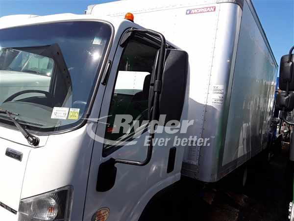 USED 2013 ISUZU NPR HD BOX VAN TRUCK #663411