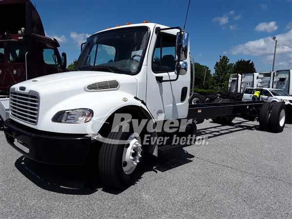 2014 FREIGHTLINER M2 106 CAB CHASSIS TRUCK #662224