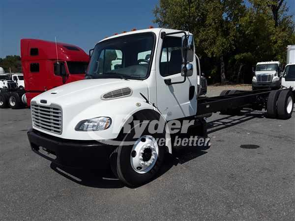 2014 FREIGHTLINER M2 106 CAB CHASSIS TRUCK #669111