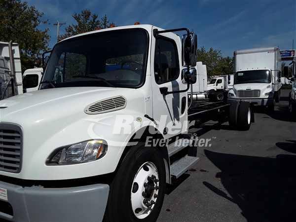 2014 FREIGHTLINER M2 106 CAB CHASSIS TRUCK #663749