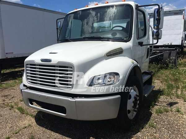 USED 2014 FREIGHTLINER M2 106 CAB CHASSIS TRUCK #662837