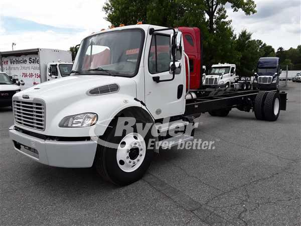 USED 2014 FREIGHTLINER M2 106 CAB CHASSIS TRUCK #662115