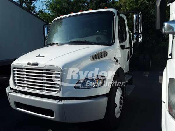 USED 2014 FREIGHTLINER M2 106 CAB CHASSIS TRUCK #662943