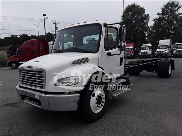 2014 FREIGHTLINER M2 106 CAB CHASSIS TRUCK #662253