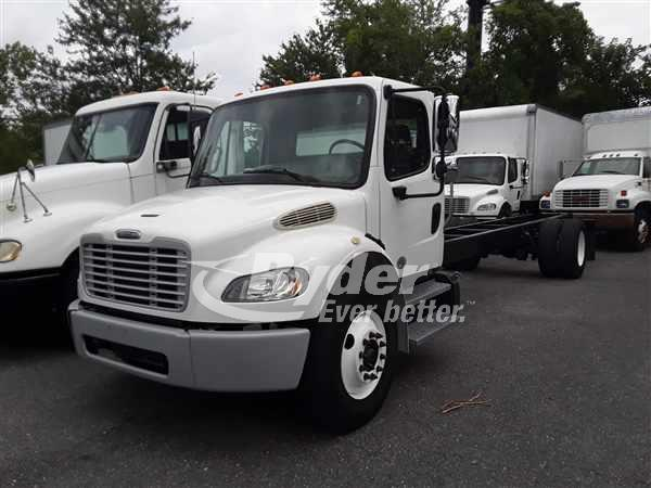 USED 2014 FREIGHTLINER M2 106 CAB CHASSIS TRUCK #662947