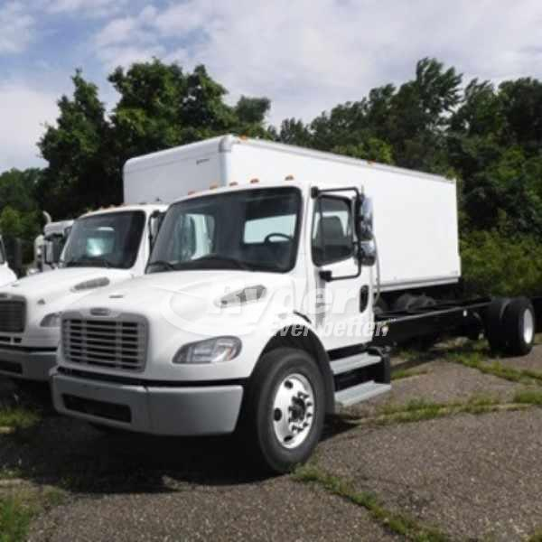 USED 2014 FREIGHTLINER M2 106 CAB CHASSIS TRUCK #660954