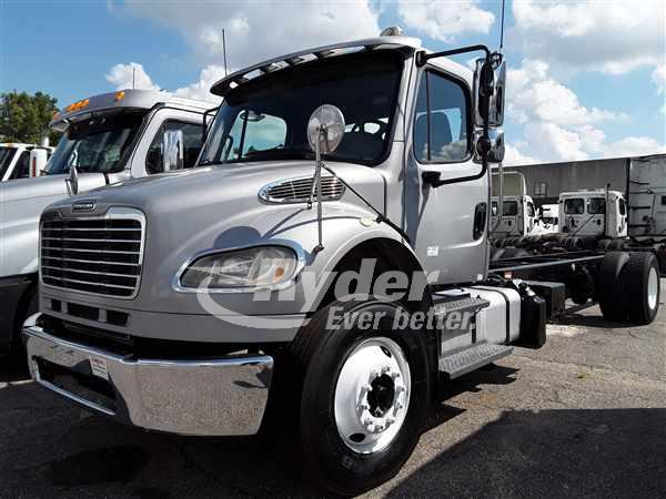 USED 2014 FREIGHTLINER M2 106 CAB CHASSIS TRUCK #662118