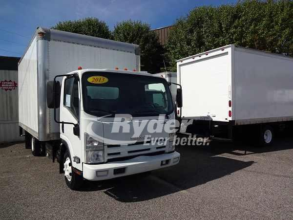 USED 2013 ISUZU NPR HD BOX VAN TRUCK #661885