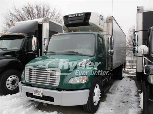 USED 2014 FREIGHTLINER M2 106 REEFER TRUCK #661908