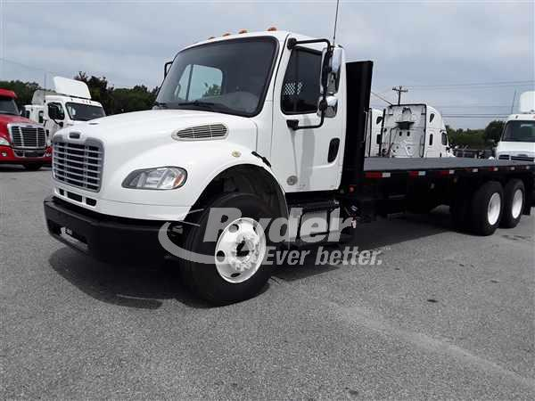 USED 2014 FREIGHTLINER M2 106 FLATBED TRUCK #662885