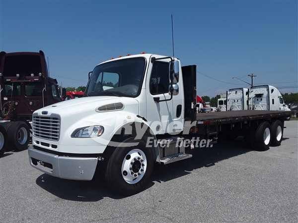 USED 2014 FREIGHTLINER M2 106 FLATBED TRUCK #662849