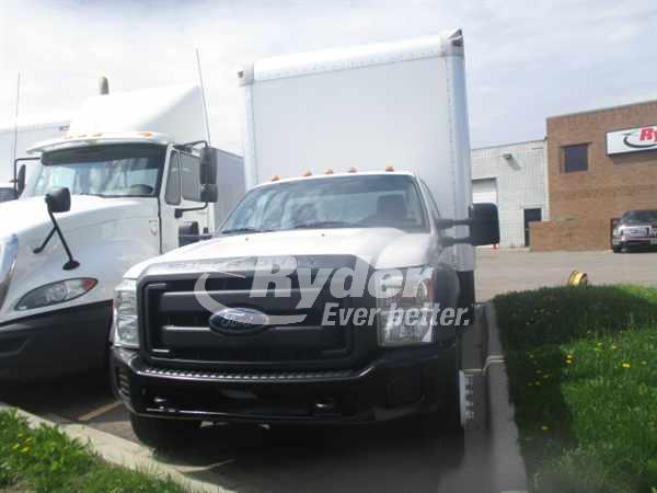 2013 FORD F550 BOX VAN TRUCK #660922