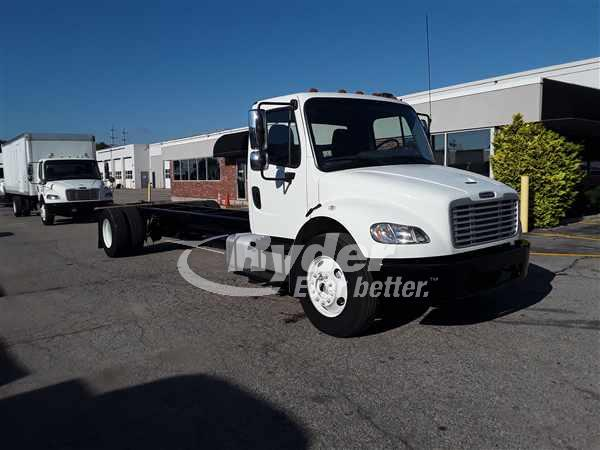 USED 2014 FREIGHTLINER M2 106 CAB CHASSIS TRUCK #663955