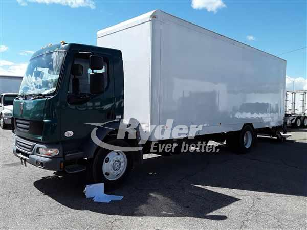 USED 2014 KENWORTH K270 BOX VAN TRUCK #662246