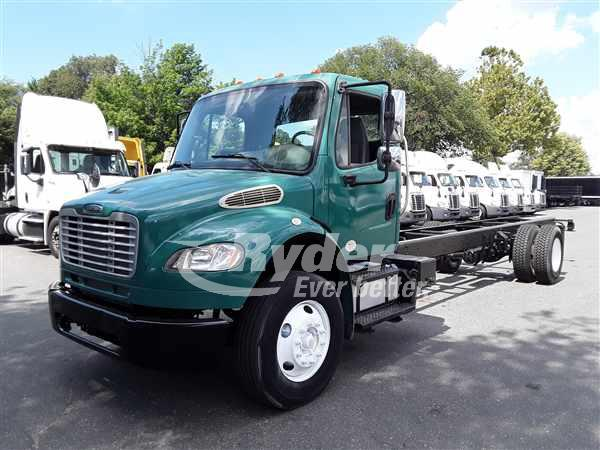 USED 2014 FREIGHTLINER M2 106 CAB CHASSIS TRUCK #662969