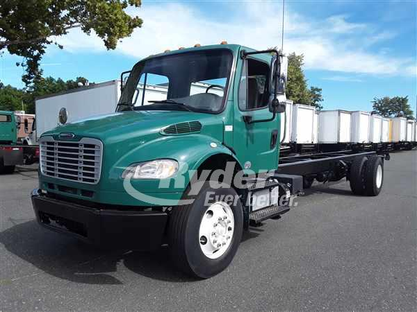 USED 2014 FREIGHTLINER M2 106 CAB CHASSIS TRUCK #663777