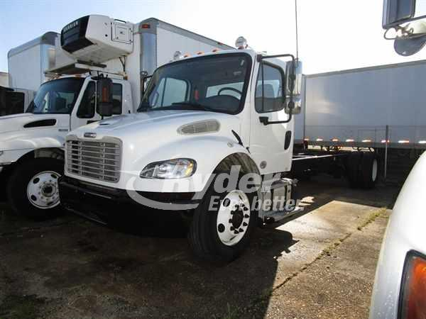 USED 2014 FREIGHTLINER M2 106 CAB CHASSIS TRUCK #661980