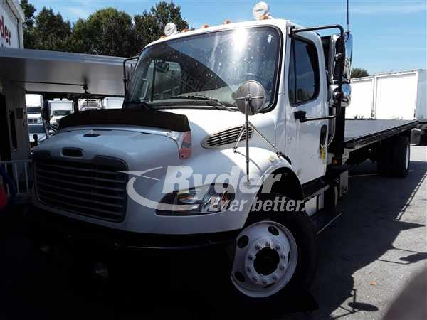 USED 2014 FREIGHTLINER M2 106 FLATBED TRUCK #663857