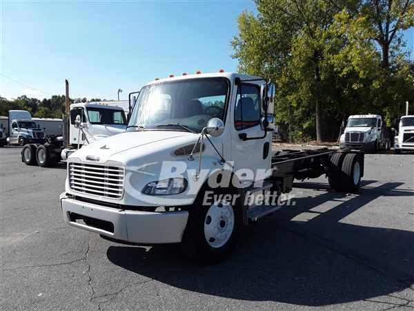 USED 2014 FREIGHTLINER M2 106 CAB CHASSIS TRUCK #663786