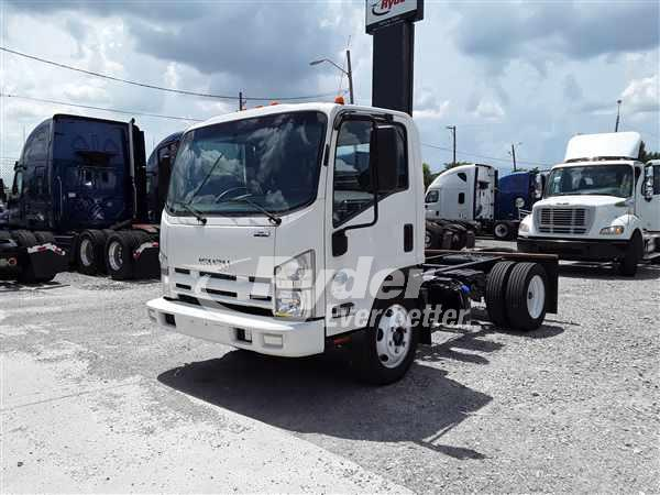 USED 2014 ISUZU NRR CAB CHASSIS TRUCK #662339