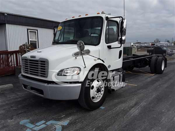 USED 2014 FREIGHTLINER M2 106 CAB CHASSIS TRUCK #667340