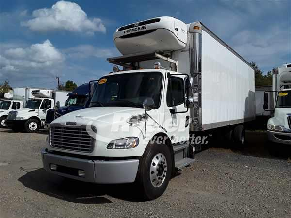 USED 2014 FREIGHTLINER M2 106 REEFER TRUCK #665128