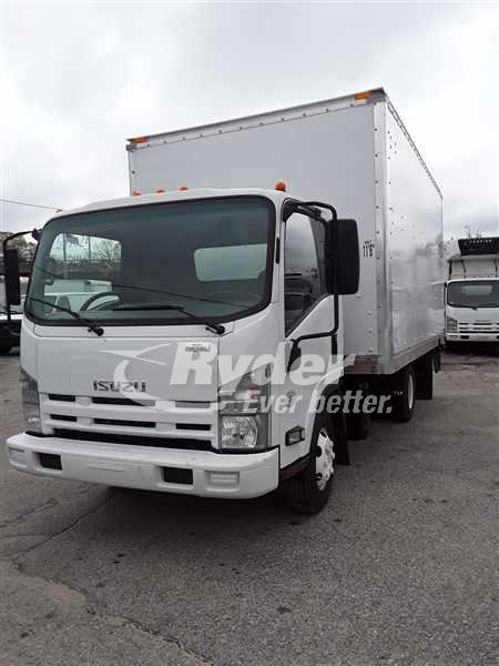 USED 2014 ISUZU NPR HD BOX VAN TRUCK #661225
