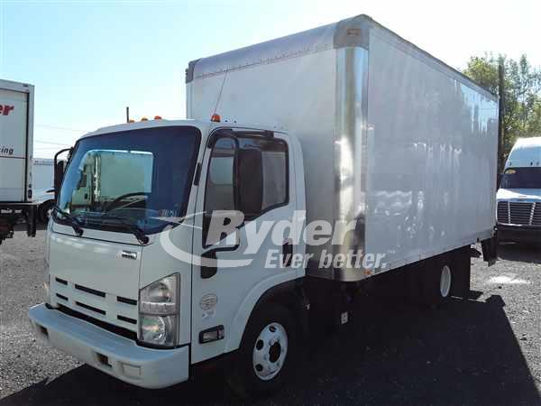 USED 2013 ISUZU NPR HD BOX VAN TRUCK #661338