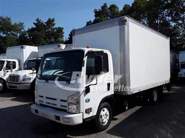 USED 2014 ISUZU NPR HD BOX VAN TRUCK #663484