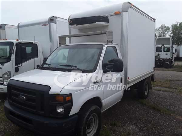 USED 2014 FORD E-350 REEFER TRUCK #662640