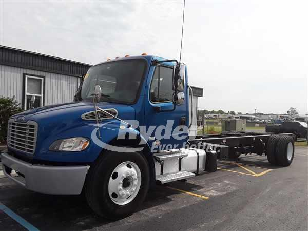 2014 FREIGHTLINER M2 106 CAB CHASSIS TRUCK #661233