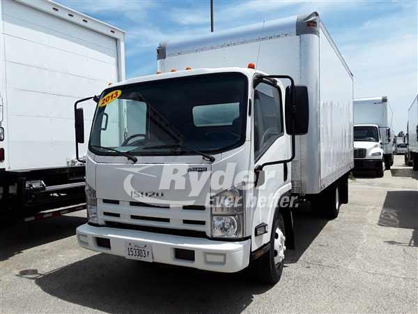 USED 2013 ISUZU NPR HD BOX VAN TRUCK #662057