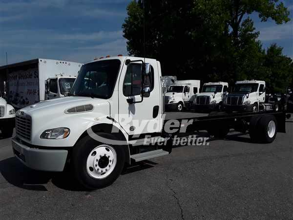 USED 2014 FREIGHTLINER M2 106 CAB CHASSIS TRUCK #662297