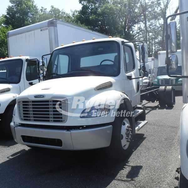 USED 2014 FREIGHTLINER M2 106 CAB CHASSIS TRUCK #662945