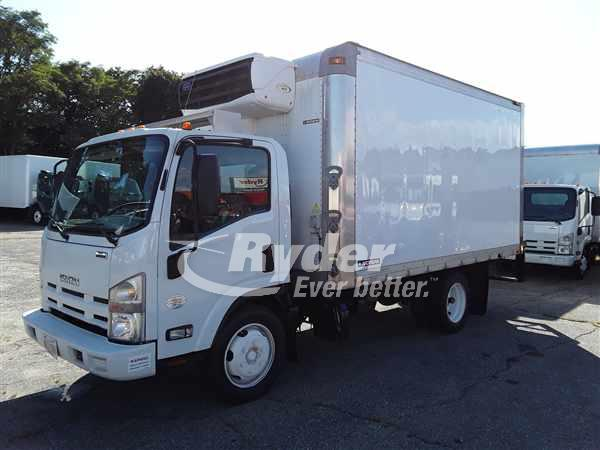 USED 2014 ISUZU NRR REEFER TRUCK #663379