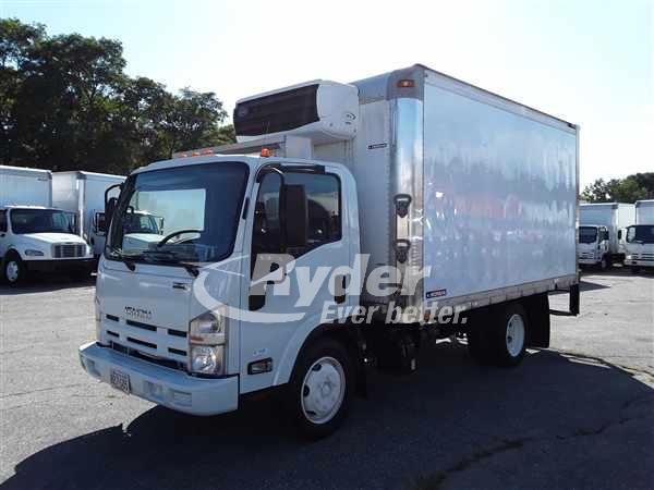 USED 2014 ISUZU NRR REEFER TRUCK #663653