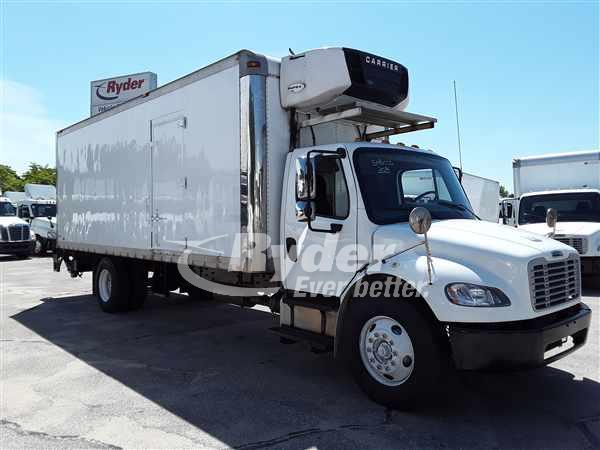 USED 2014 FREIGHTLINER M2 106 REEFER TRUCK #663156
