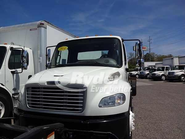 USED 2014 FREIGHTLINER M2 106 CAB CHASSIS TRUCK #661788