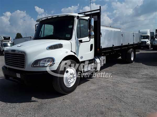 USED 2014 FREIGHTLINER M2 106 FLATBED TRUCK #666162
