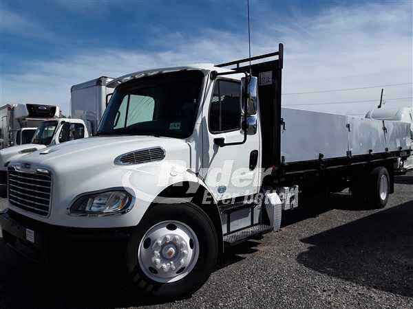 USED 2014 FREIGHTLINER M2 106 FLATBED TRUCK #668666