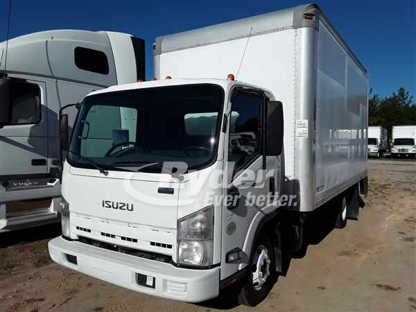 USED 2014 ISUZU NPR HD BOX VAN TRUCK #669110